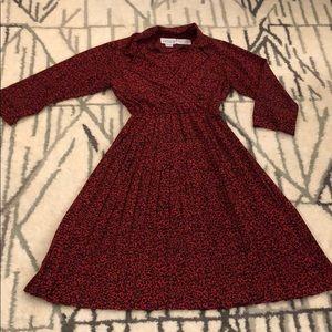 Vintage pleated dress
